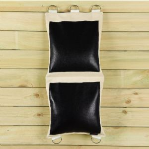 Standard 2 Section Wall Bag - Leather
